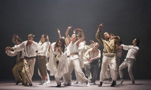 A scene from Sun by Hofesh Shechter at Sadler's Wells