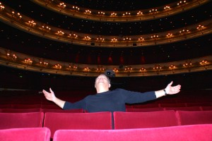 Martin Kušej in the Royal Opera in Covent Garden